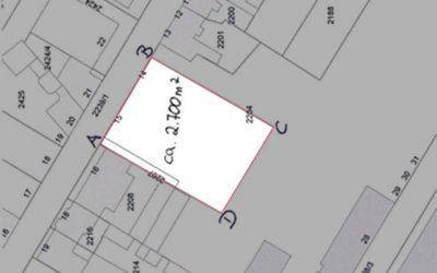 Antrag auf Übertragung des Grundstücks